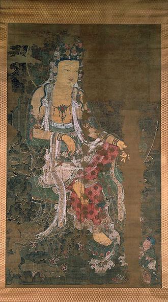 330px-Goryeo-Avalokiteshvara-1310-kagami_Jinjya_Temple